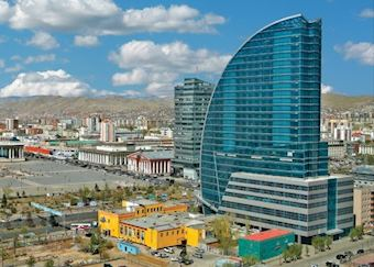Blue Sky Tower, Ulaan Baatar