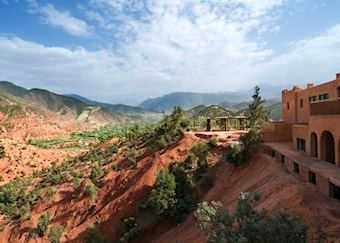 Kasbah Bab Ourika, The High Atlas Mountains