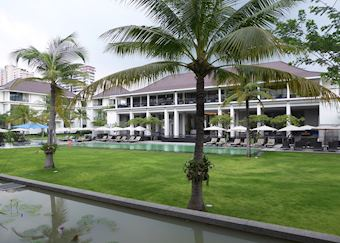 Grounds at the U Sathorn Hotel