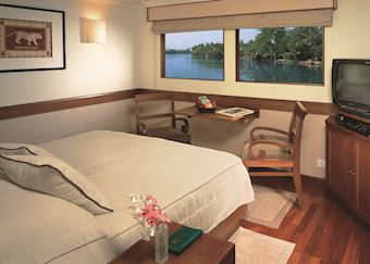 Luxury Cabin, MV Vrinda, Cochin