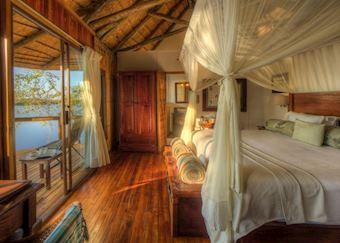 Xugana Island Lodge bedroom
