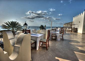 Rooftop terrace, The Seyyida Hotel & Spa