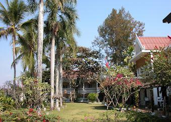 Gardens; Maison Souvannaphoum, Luang Prabang