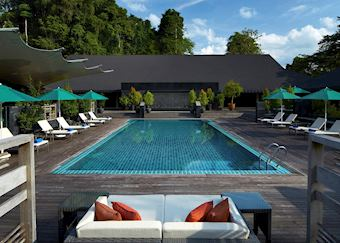 Pool at the Mulu Marriott