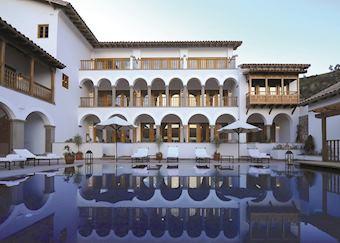 Pool, Palacio Nazarenas, Cuzco