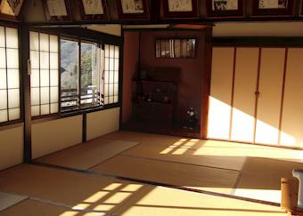 Dining room at Daikichi ryokan