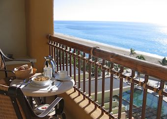 Breakfast on your terrace, Marquis Los Cabos, San Jose del Cabo