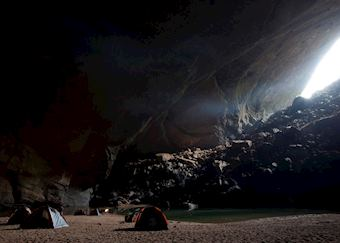 Camping at Phong Nha-Ke Bang National Park,Vietnam