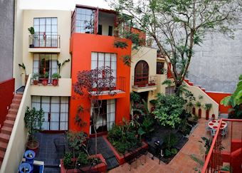 The Red Tree House, Mexico City