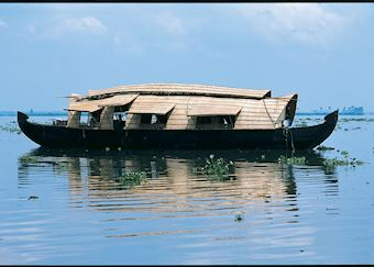 Keralan Houseboats / Rice barges, backwaters