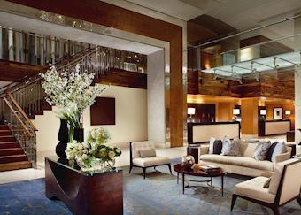 Lobby of the Ritz-Carlton Toronto