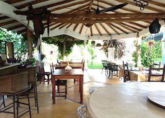 Dining area La Casona Trinidad