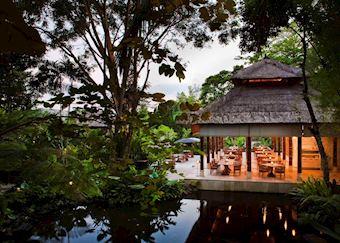 Kemiri restaurant, Uma, Ubud