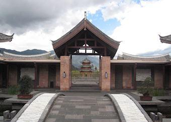Entrance, Lijiang Banyan Tree