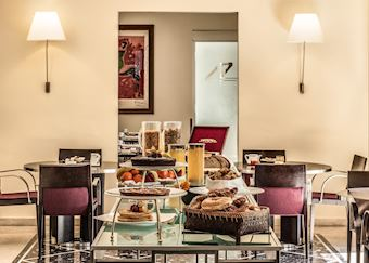Breakfast, Fortyseven Hotel, Rome