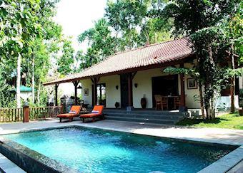Grand Borobudur pool villa, PLataran Borobudur Resort & Spa, Yogyakarta
