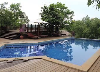 Pool at the Mayura Hill Resort