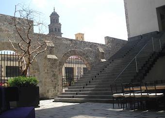 The courtyard, La Purificadora, Puebla