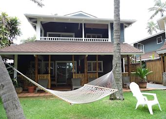 Beach front cottage at Inn at Mama's Fish House Restaurant and Inn, Maui