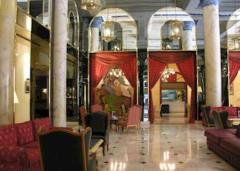 Lobby at Le Royal Mansour
