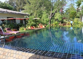 Pool, Blue Bird, Bagan
