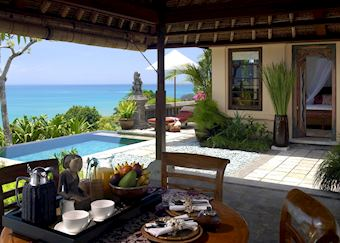 Deluxe Oceanview Villa, The Four Seasons, Jimbaran