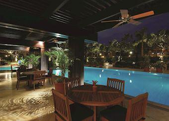 Poolside, The Peninsula Hotel, Manila