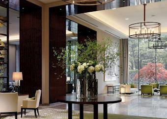 Lobby at Palace Hotel Tokyo, Tokyo