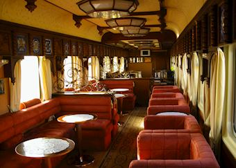Bar Car, GW Golden Eagle Trans-Siberian Express, Moscow