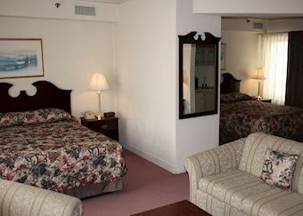 Junior Suite, The Historic Anchorage Hotel