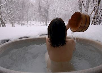 Winter Onsen