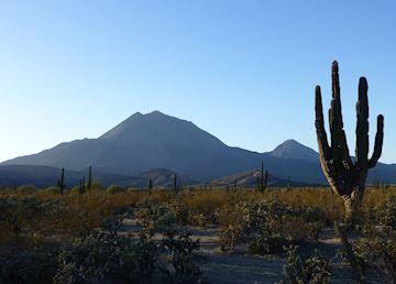 Tres Virgenes volcano, Baja California