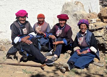 Tibetan tribe in Zhongdian