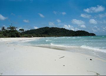 Tropical shores of Phu Quoc Island, Vietnam