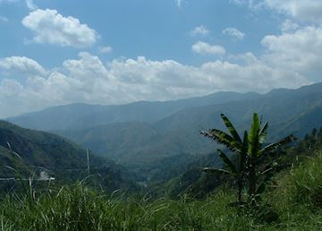 Enroute from Manila to Banaue