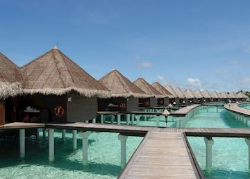 Lagoon Villas, Taj Exotica Resort & Spa, Maldive Island