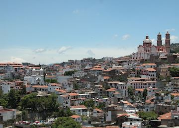 Taxco's rooftops, Mexico