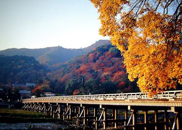 Sagano-Arashiyama bridge