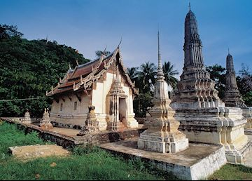 Temple remains, Hua Hin, Thailand