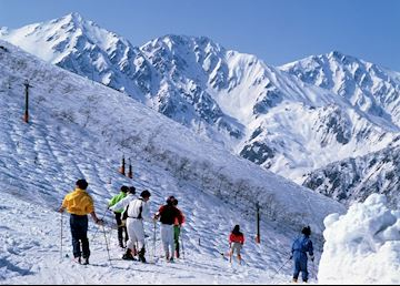 Hakuba ski slopes