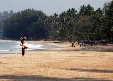 Unlike many popular beaches in Southeast Asia, Ngapali still retains the local way of life