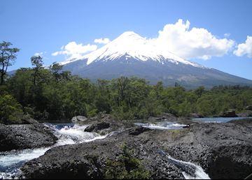 The Osorno Volcano, near Puerto Varas