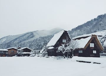 Shirakawago in the snow