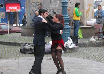 Tango in La Boca, Buenos Aires