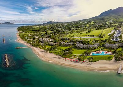 Aerial view, Four Seasons Resort Nevis, Saint Kitts & Nevis