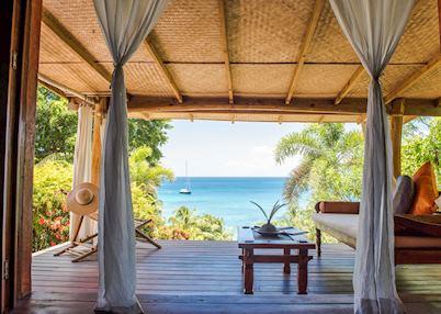 Cottage veranda, Laluna Boutique Resort & Villas, Grenada