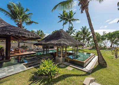 Pool villa, Constance Lemuria, Praslin