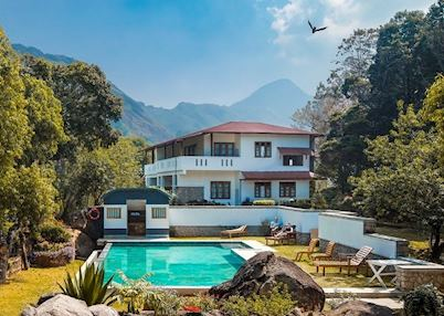 Pool at Windermere Estate , Munnar