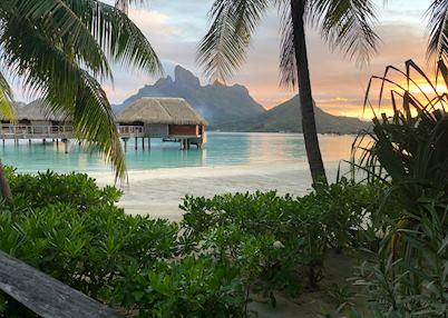 Four Seasons Bora Bora overwater bungalows