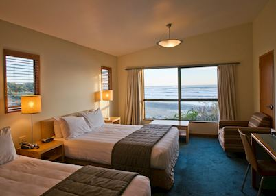 Standard Sea View Room at Punakaiki Resort